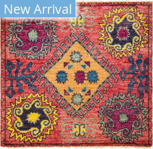 Solo Rugs Kaitag M1891-412 Pinks Area Rug