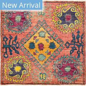 Solo Rugs Kaitag M1891-414 Pinks Area Rug