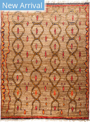 Solo Rugs Tullu M1891-431 Browns Area Rug