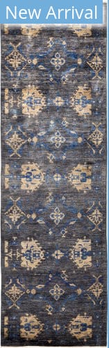 Solo Rugs Eclectic M1896-385 Greys Area Rug