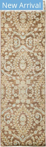 Solo Rugs Eclectic M1896-388 Browns Area Rug