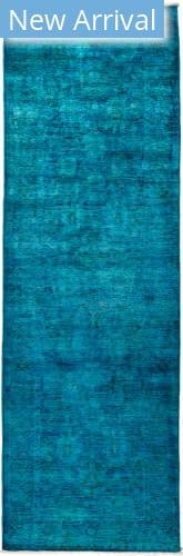 Solo Rugs Vibrance M1896-445 Blues Area Rug
