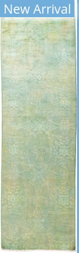 Solo Rugs Vibrance M1896-448 Greens Area Rug