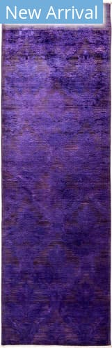 Solo Rugs Vibrance M1896-449 Purples Area Rug