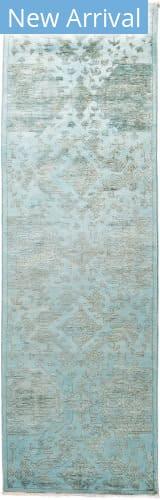 Solo Rugs Vibrance M1896-454 Blues Area Rug