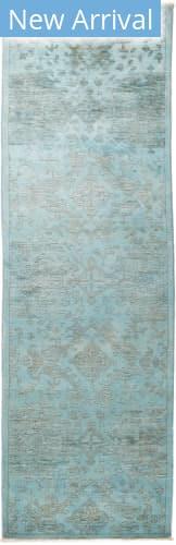 Solo Rugs Vibrance M1896-460 Blues Area Rug