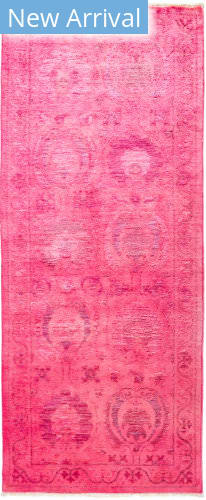 Solo Rugs Vibrance M1896-464 Pinks Area Rug