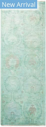 Solo Rugs Vibrance M1896-492 Greens Area Rug