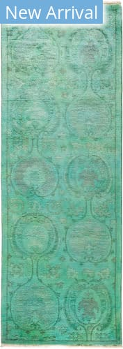 Solo Rugs Vibrance M1896-515 Greens Area Rug