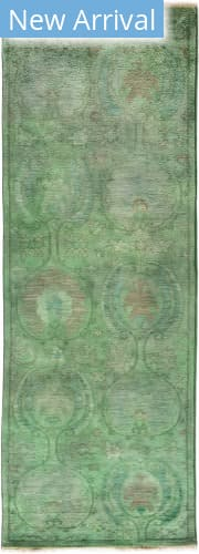 Solo Rugs Vibrance M1896-521 Greens Area Rug