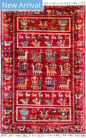 Solo Rugs Tribal M1898-284  Area Rug