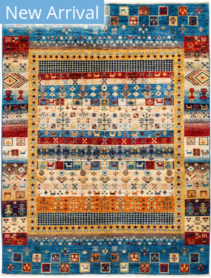 Solo Rugs Tribal M1898-380  Area Rug