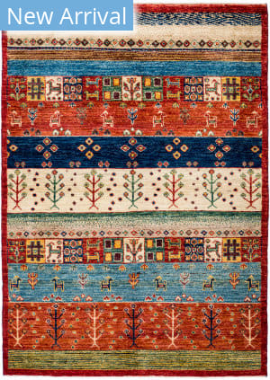 Solo Rugs Tribal M1898-397  Area Rug
