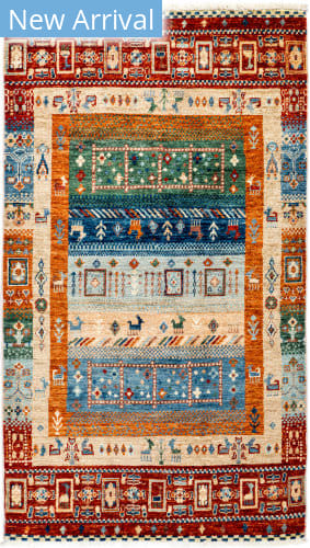 Solo Rugs Tribal M1898-400  Area Rug