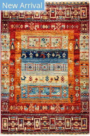 Solo Rugs Tribal M1898-406  Area Rug