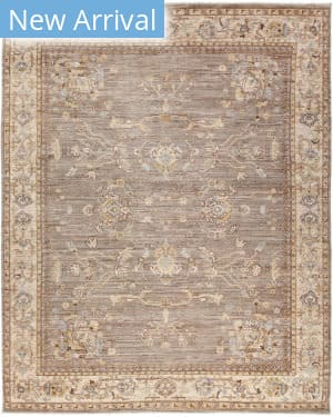 Solo Rugs Silky Oushak M1909-14  Area Rug