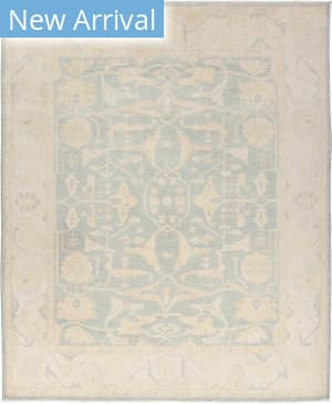 Solo Rugs Silky Oushak M1909-7  Area Rug