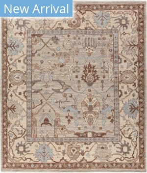 Solo Rugs Silky Oushak M1909-9  Area Rug