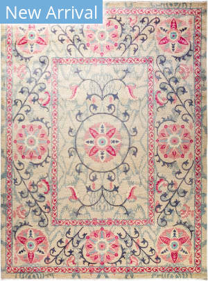 Solo Rugs Floral M1910-646  Area Rug