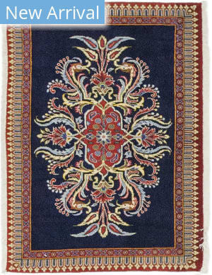 Solo Rugs Kashan M5540-15539  Area Rug