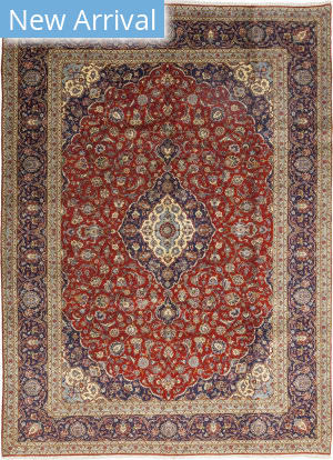 Solo Rugs Kashan M5660-30768  Area Rug
