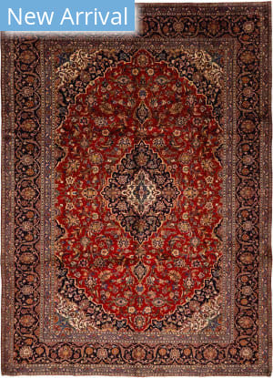 Solo Rugs Kashan M6085-22043  Area Rug