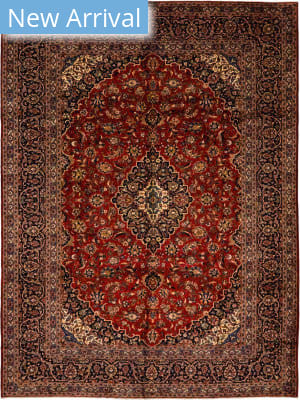 Solo Rugs Kashan M6085-22056  Area Rug