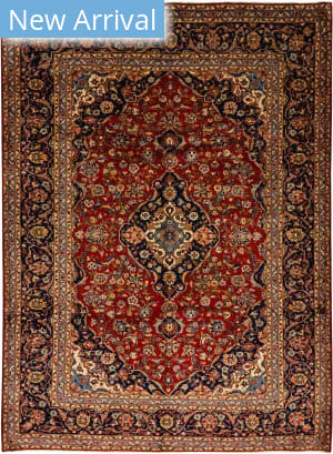 Solo Rugs Kashan M6085-22108  Area Rug