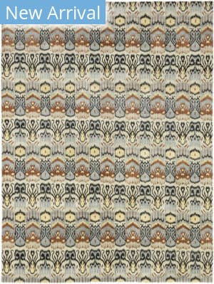 Solo Rugs Ikat M6183-36  Area Rug