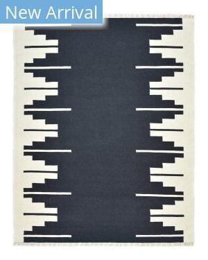 Luxor Lane Woven Art-S3051 Black Area Rug