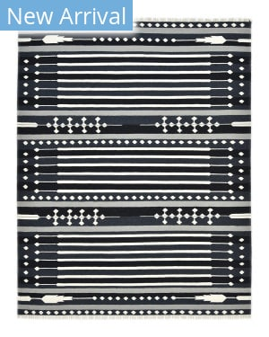 Luxor Lane Woven Jef-S3052 Black Area Rug