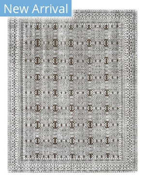 Luxor Lane Knotted Chu-S3212 Ivory - Brown Area Rug
