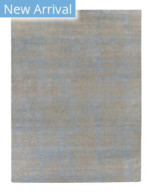 Luxor Lane Knotted Jay-S3566 Beige - Blue Area Rug