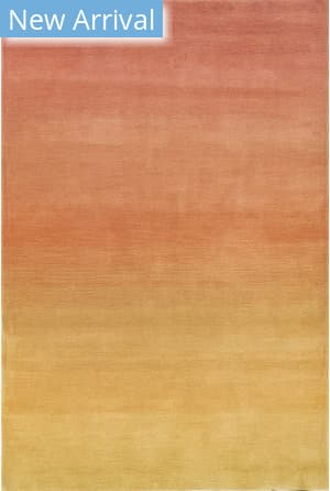 Trans-Ocean Arca Ombre 9206/37 Orange Area Rug