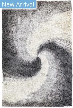 Trans-Ocean Andes Spiral 6236/47 Grey Area Rug