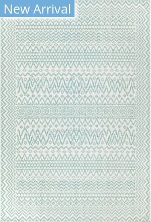 Trans-Ocean Beaux Tribal Diamond 7352/04 Blue Area Rug