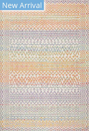 Trans-Ocean Beaux Tribal Diamond 7352/44 Multi Area Rug