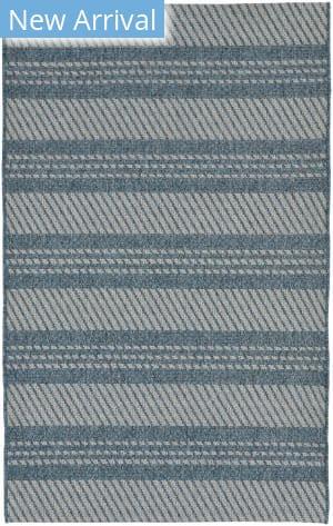 Trans-Ocean Belmont Horizontal Stripe 7306/03 Blue Area Rug