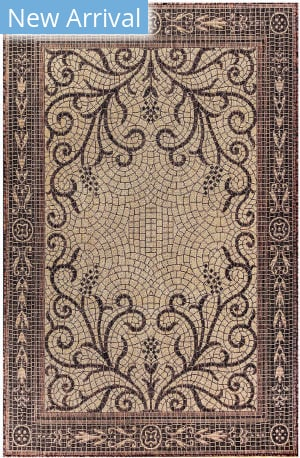 Trans-Ocean Carmel Mosaic 8429/19 Brown Area Rug