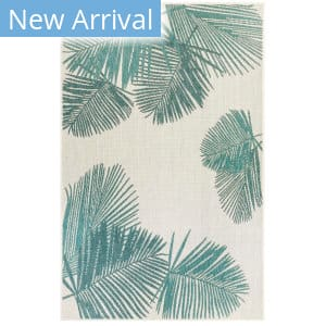 Trans-Ocean Carmel Palm 8439/04 Blue Area Rug