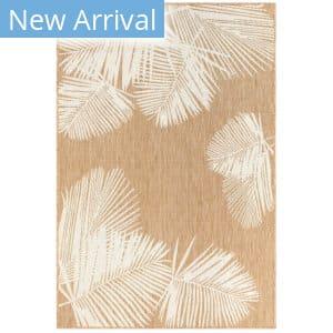Trans-Ocean Carmel Palm 8439/12 Beige Area Rug