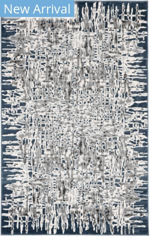 Trans-Ocean Lhasa Shadows 2707/03 Blue Area Rug