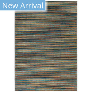 Trans-Ocean Marina Stripes 8052/93 Blue Area Rug