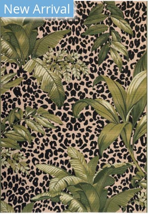 Trans-Ocean Marina Safari 8056/06 Green Area Rug