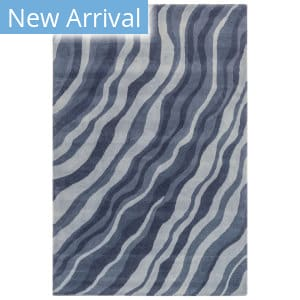 Trans-Ocean Piazza Waves 7284/33 Navy Area Rug