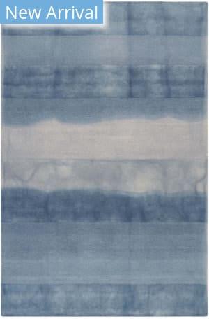 Trans-Ocean Piazza Textured Stripe 7286/33 Navy Area Rug