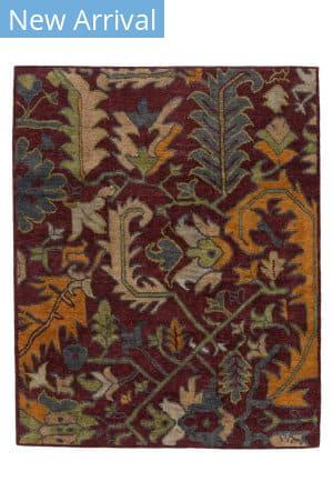 Tufenkian Tibetan Baneh Garnet Area Rug