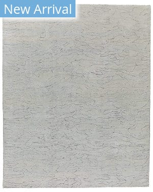Tufenkian Knotted Water Grey Area Rug