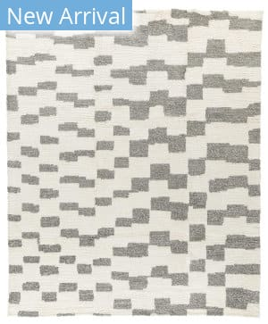 Tufenkian Knotted Step Natural - Grey Area Rug