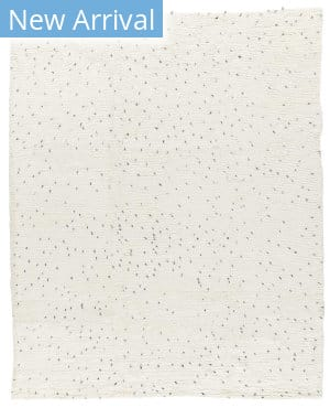 Tufenkian Knotted Speckle II White Area Rug